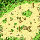 Minimap Desert Beach Field 3 - Statue of Anubis