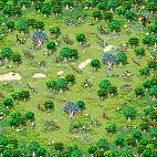 Minimap Alteo Empire Field 3 - Sanctuary Forest