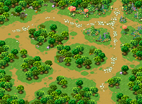 Minimap Southwest Forest