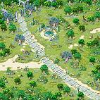 Minimap Alteo Empire Field 1 - Secret Garden