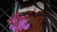Ep22 - alice as herself with a bunch of flower