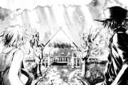 Strange mansion appears