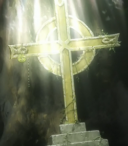 Ep01 - close up of lacie's tomb