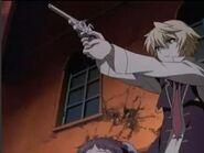 Oz has a gun