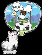 Ghostcow milkstand
