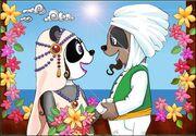 Kamaria y Farid