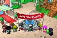 San Franpanfu Eröffnung