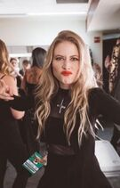 Nicole-row-backstage-pray-for-the-wicked-tour