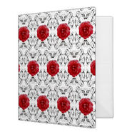 Binder red roses black scrollwork-r39e5127a87124772b1bda8d992ce859c xz8m1 8byvr 324