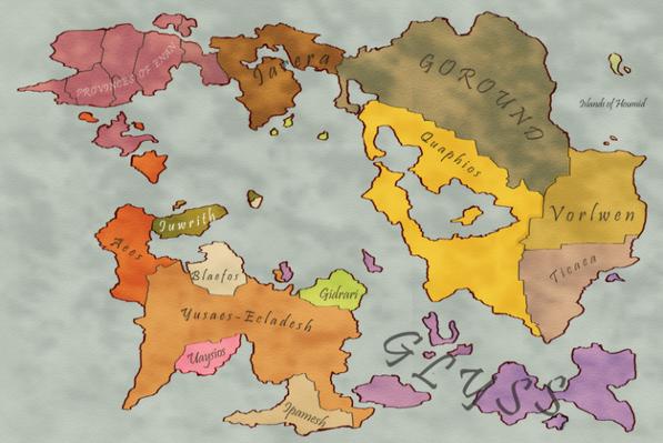 Pantheon Overworld