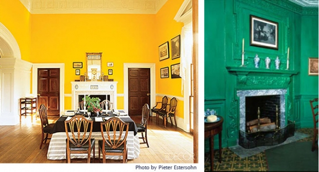 Monticello Yellow Dining Room From Colordesignnet1.jpeg Part 65