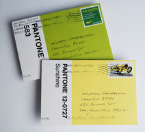 Pantone Postcard 3