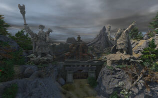 Panzar dwarven quarry