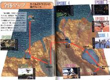 Panzer Dragoon map