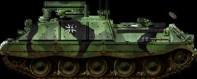 Raketenjagdpanzer Jaguar 2