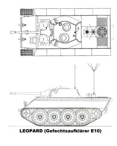 -fake- Gefechtsaufklärer E-10 Leopard