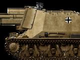 10,5cm leFH 18 (Sf.) auf Geschützwagen 39H(f)