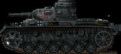 Panzer III Ausf.G (3,7cm KwK 36 L-45)