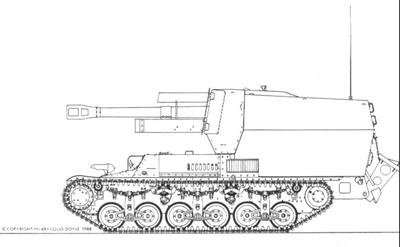 10,5cm leFH 18-40 (Sf.) auf Geschützwagen Lorraine Schlepper(f) (Becker)