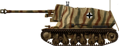 7,5cm PaK 43 auf Geschutzwagen 39H(f)