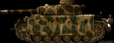 Panzer III Ausf.M with Schürzen