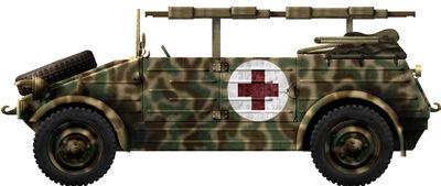Kubelwagen Ambulance