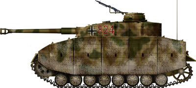 Panzer IV Ausf.J with Schürzen