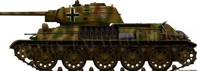 Panzerkampfwagen T-34 747(r) (1941)