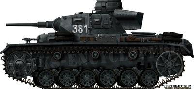 Panzer III Ausf.J (5cm KwK 38 L-42)