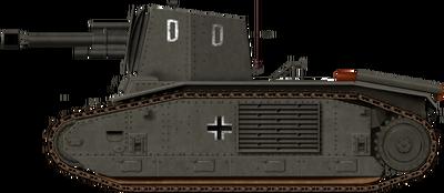 10,5cm leFH 18-3 auf Geschutzwagen B2 740(f)
