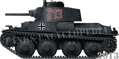 Panzer 38(t) Ausf.A