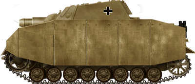 Sturmpanzer IV Brummbar Early with Schürzen