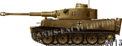 Tiger Ausf.E Tropical First Batch