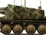 15cm Schweres Infanteriegeschütz 33 (Sf.) auf Panzerkampfwagen 38(t) Ausf.H (Sd.Kfz.138/1) / Grille Ausf.H