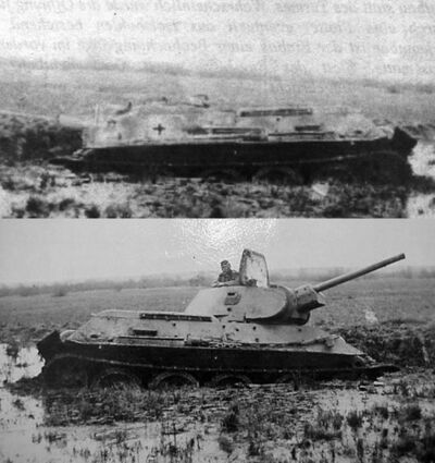 -fake- Sturmgeschütz T-34