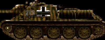 Captured SU-85(r)