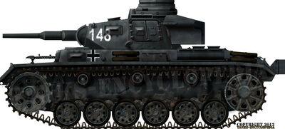 Panzer III Ausf.F (5cm KwK 38 L-42)