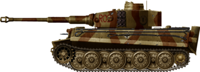 Tiger Ausf.E Late with Early Cupola