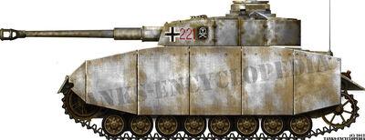 Panzer IV Ausf.H with Schürzen