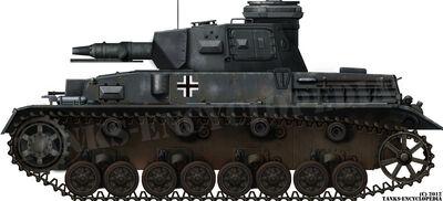 Panzer IV Ausf.F1 mit Vorpanzer