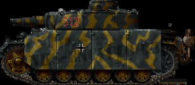 Panzer III Ausf.N with Schürzen