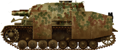Sturmpanzer IV Brummbar Late with Schürzen