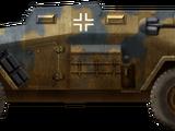 Schwerer Geländegängiger Gepanzerter Personenkraftwagen Sd.Kfz.247 Ausf.B