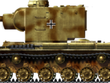Panzerkampfwagen KV-II 754(r)