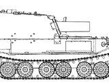 Panzerjäger Tiger (P) Ferdinand mit 210mm Beutemorser