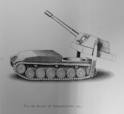 Selbstfahrlafette mit Absetzbarer 15cm sFH 18 V1 Model