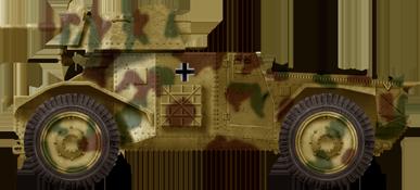 Panzerspähwagen P 204(f) mit 5cm KwK 38 L-42