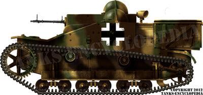 Gepanzerter Maschinengewehrträger Renault UE(f)