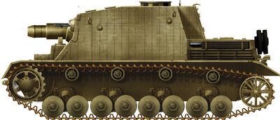 Sturmpanzer IV Brummbar Late