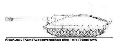 -fake- Jagdpanzer E-90 Type 3